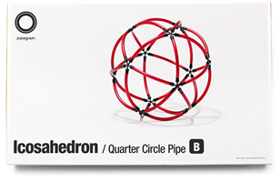 Icosahedron - Quarter Circle Pipe•Bの写真